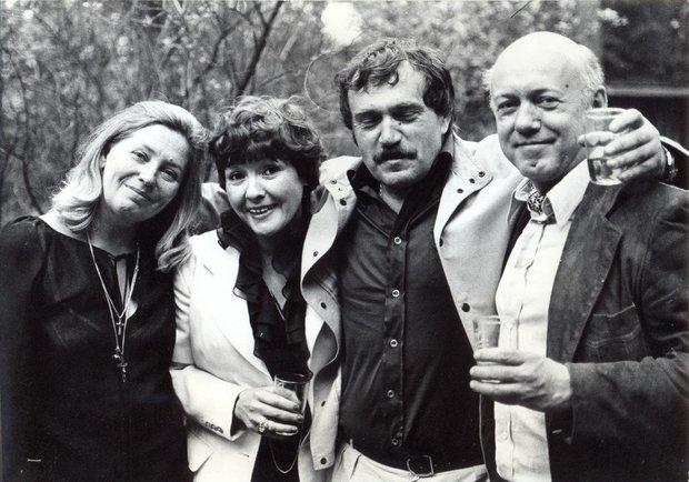 Переделкино июль 1980, свадьба Василия и Майи, вчетвером с Беллой Ахмадулиной и Борисом Мессерером