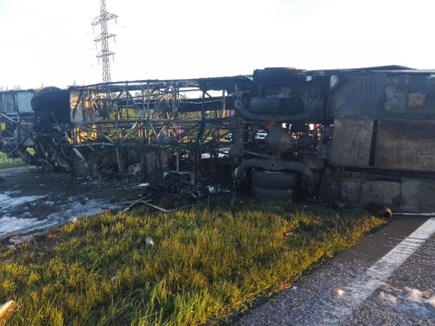 Перевозчик: Перевернувшийся автобус вТатарстане был в превосходном состоянии