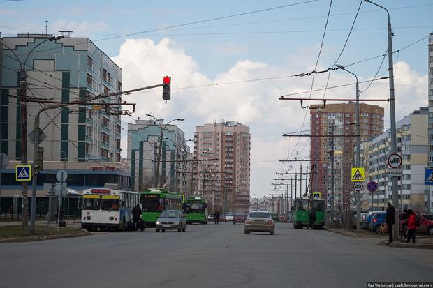 Казанский троллейбус не успел