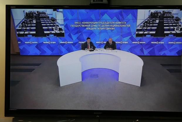 В государственной думе начали разработку законодательного проекта о русской нации