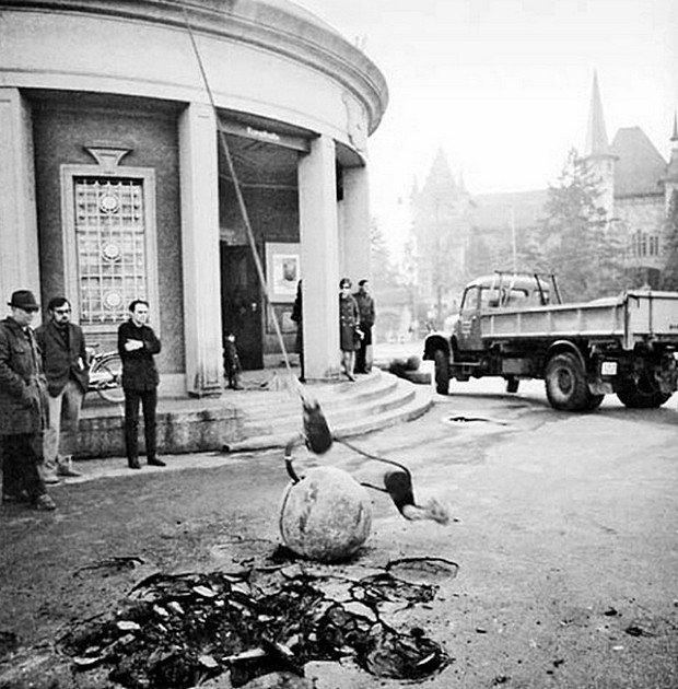 Вид экспозиции «Когда отношения обретают форму». Кунстхалле, Берн, 1969