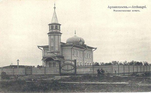 Виктор Павленко поздравил мусульман Архангельска соткрытием мечети