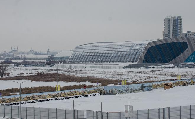 Презентован проект набережной около «Казань Арены» ссамой длинной скамейкой вмире