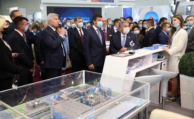 Разработки «Нижнекамскнефтехима» получили высокую оценку на нефтегазохимическом форуме