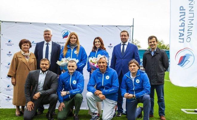 «Мы приезжаем, чтобы поделиться частичкой себя»: Нижнекамск посетили олимпийские чемпионы