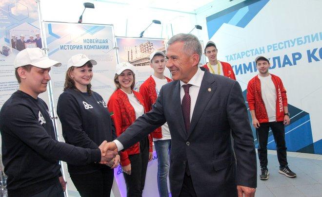 Рустам Минниханов: «Традиция праздновать в Нижнекамске устоялась, и надеюсь, мы дальше так будем встречаться»