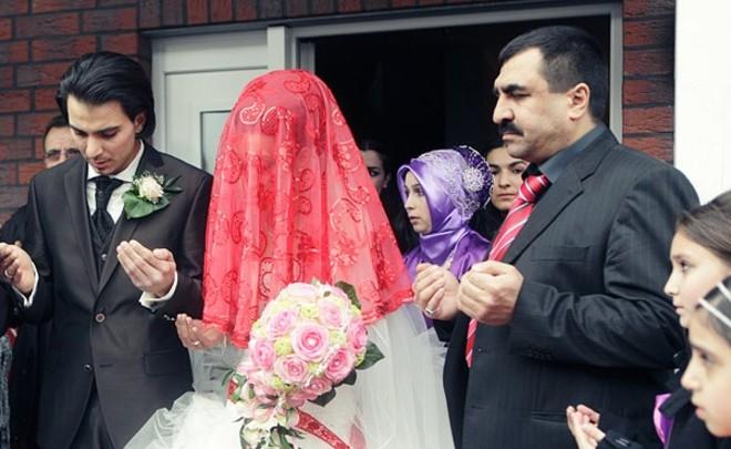 Свадьбы турок и русских