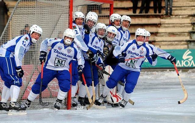 Динамо казань хоккей с мячом