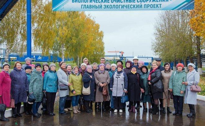 День открытых дверей: ветераны «Нижнекамскнефтехима» побывали на обновленных БОС