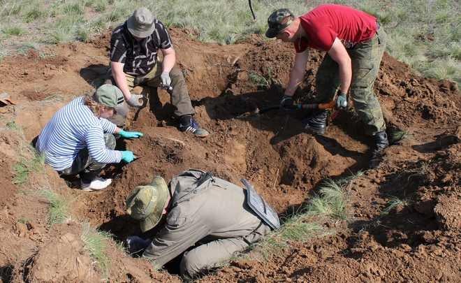 Память о защитниках: поисковый отряд «Нефтехимик» поднял останки 62 бойцов