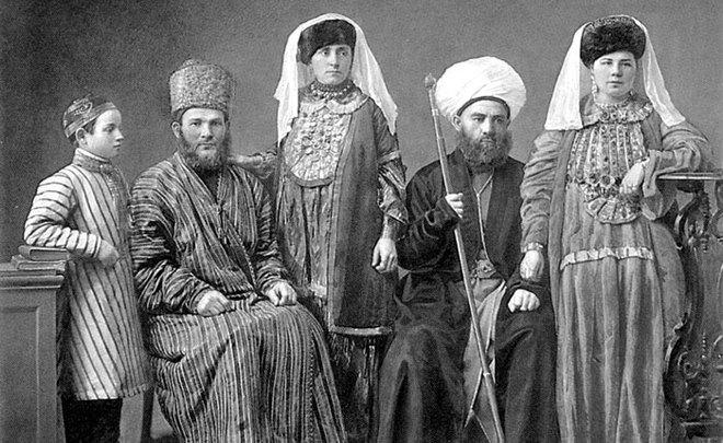 предки русских и татар