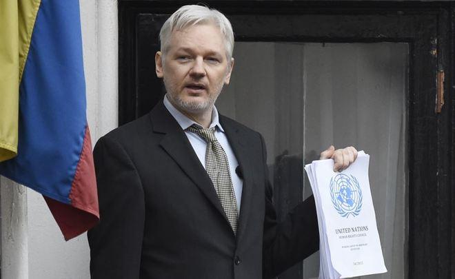 Швеция закрыла расследование вотношении Джулиана Ассанжа