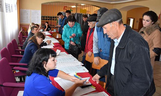 Предварительные результаты выборов: «Единая Россия» набрала 54% голосов