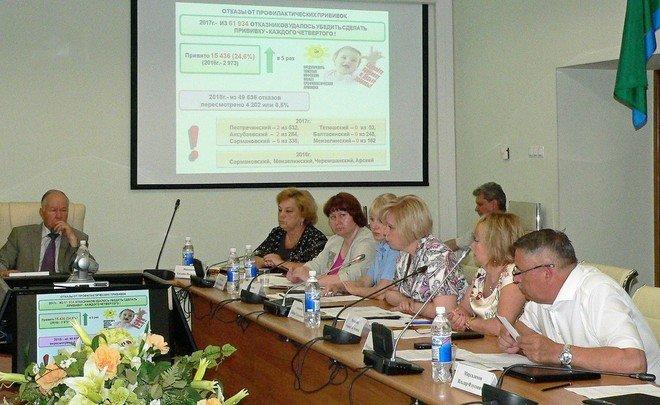 В Татарстане родителей — отказников от прививок хотят бить рублем