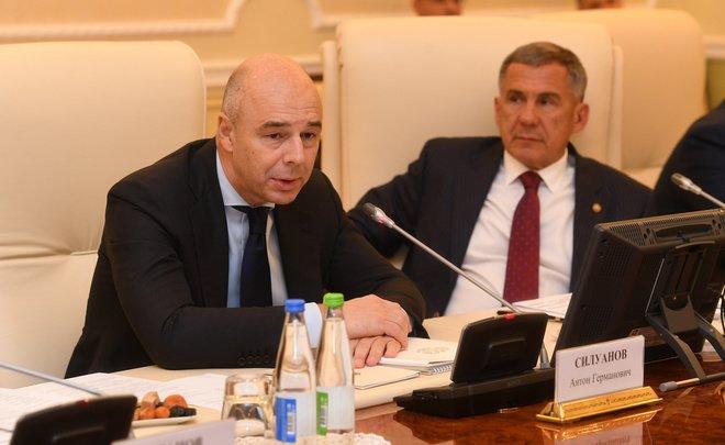 Силуанов: власти готовы к разговору сбизнесом осоздании новых производств