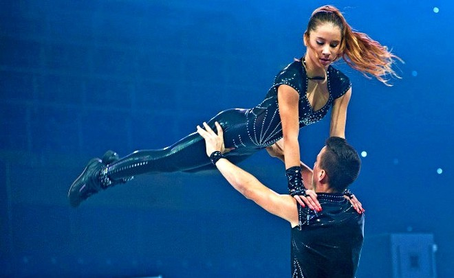 Москвичи— серебряные призеры начемпионате Европы поакробатическому рок-н-роллу