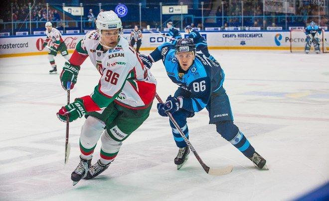 «Сибирь» одержала 3-ю подряд победу, обыграв «АкБарс» вматче КХЛ