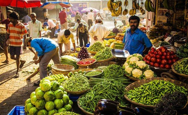 Повседневная пища в Индии — Реальное время