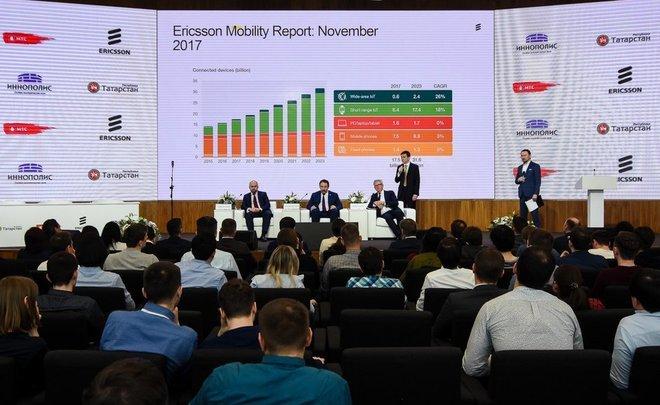 Ericsson иМТС будут изучать 5G иИнтернет вещей вИннополисе