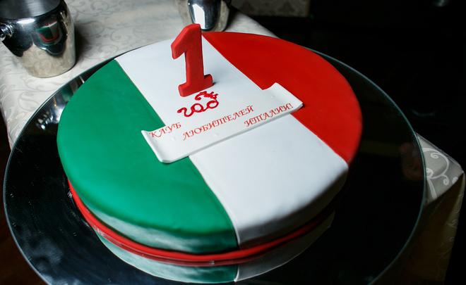 Торта по итальянски фото