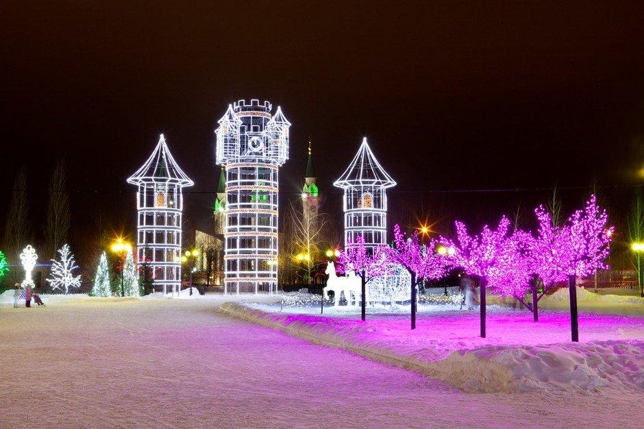 нижнекамск фото новогодние получила распространение, востребована
