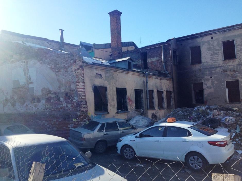 ВКазани произошел пожар наобъекте культурного наследства