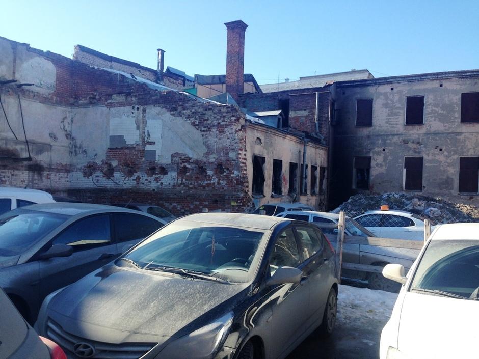 Дом Свешникова: ВКазани тушили объект культурного наследства
