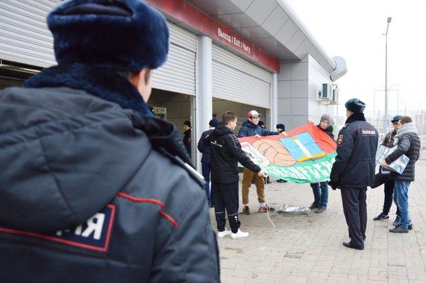 ВКазани завандализм задержали 16-летнего поклонника ФК «ЦСКА»