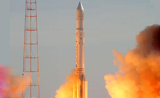 Ксередине весны задуман коммерческий запуск «Протона»