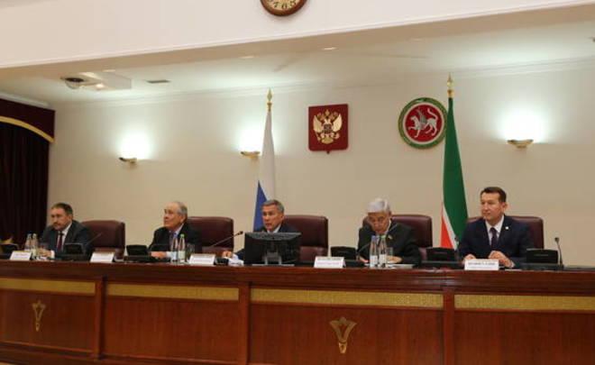 Рустам Минниханов встретился сзаместителем Премьер-министра Узбекистана Гуломжоном Ибрагимовым