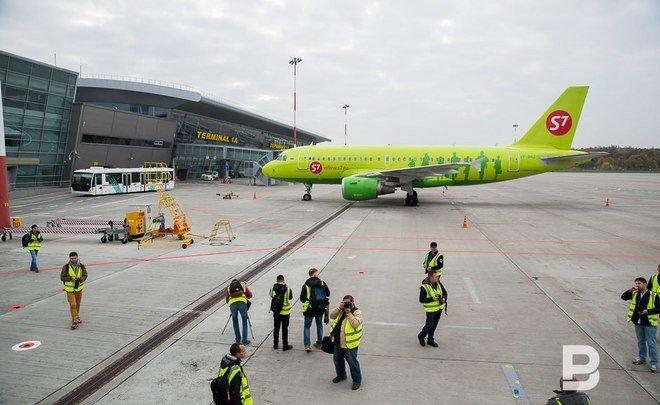 В 2017-ом году аэропорт «Казань» обслужил неменее 2,6 млн пассажиров