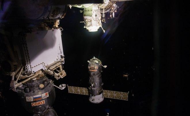 Роскосмос грузовой корабль Прогресс МС-05 успешно пристыковался к МКС
