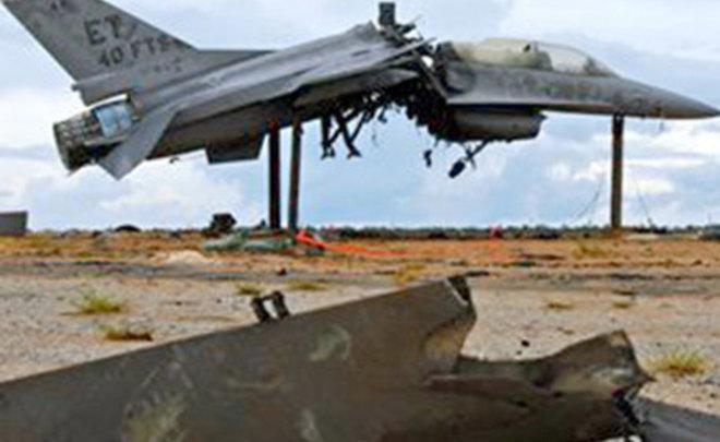 Два истребителя США засутки рухнули наземлю