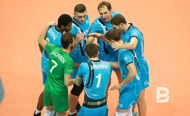 Русский клуб «Зенит» вышел в«Финал четырёх» волейбольной Лиги чемпионов