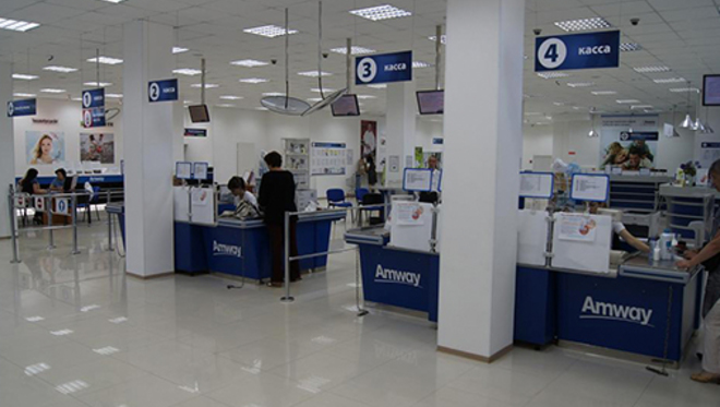 Amway запустила розничную сеть в РФ
