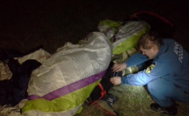 Парапланерист угодил в поликлинику после безуспешной посадки вТатарстане