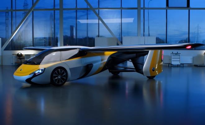 ВоФранкфурте представили инновационный летающий AeroMobil 4.0