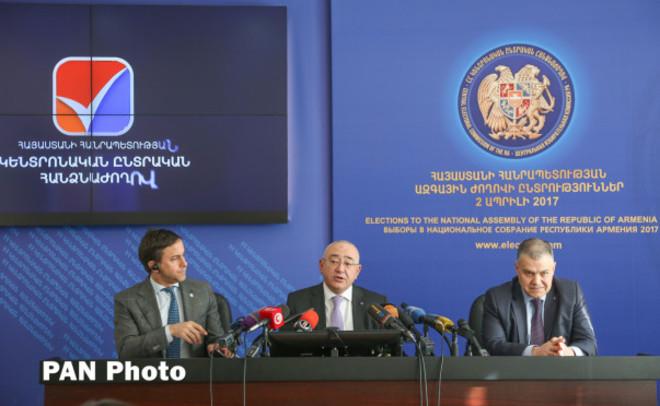 Впарламент Армении проходят 4 политсилы— предварительные данные exit