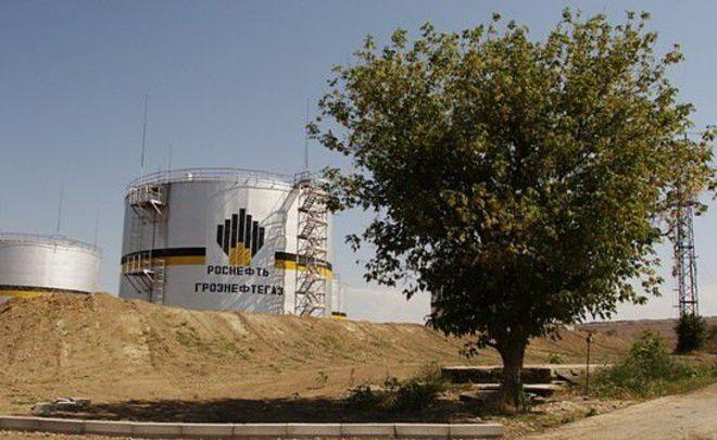 «Роснефть» готова реализовать Чечне «Грознефтегаз»