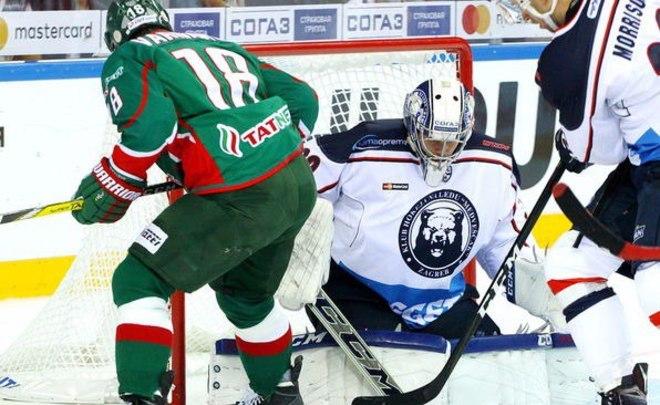 Победную серию «АкБарса» прервал «Медвежчак»— КХЛ