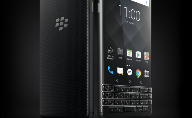 BlackBerry рассекретила QWERTY-смартфон KeyOne ранее времени