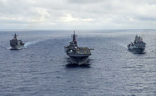 Два корабля ВМС США «захватили» Средиземное море