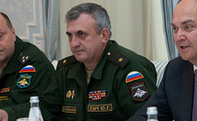 Отправлен вотставку генерал Юрий Сыч, отвечавший захранение ядерных боеприпасов