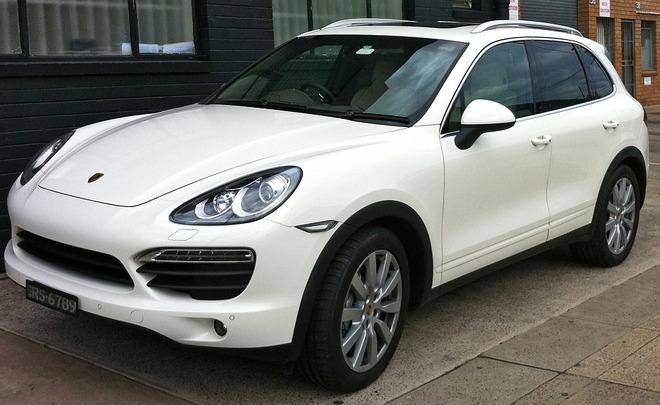 ВЕвропе отзовут 22 тысячи Porsche Cayenne из-за сокрытого уровня вредных выбросов
