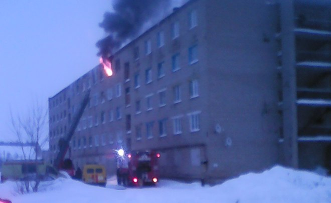 ВТатарстане напожаре едва не умер юноша