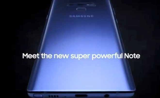 В Нью Йорке представили смартфон Samsung Galaxy Note 9