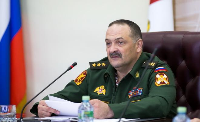 Основной претендент напост руководителя Дагестана— замдиректора Росгвардии Сергей Меликов