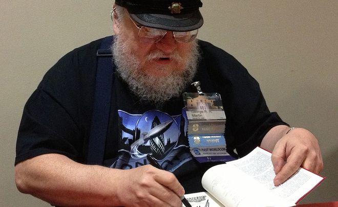 В2016-м году Джордж Мартин напишет новые книги по«Игре престолов»
