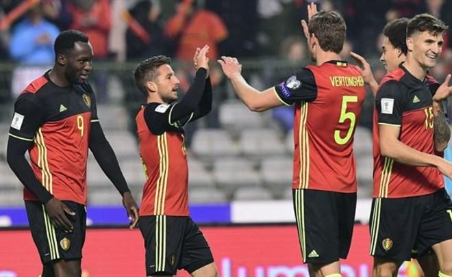 Бельгия получит отРФС заматч сРоссией 300 000евро
