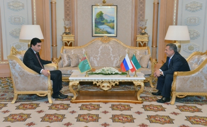 Президент Туркменистана посетит РФ наследующей неделе
